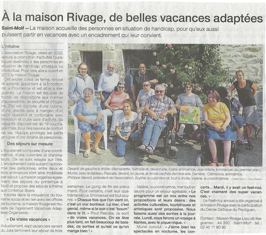 2018 08 21 Ouest France